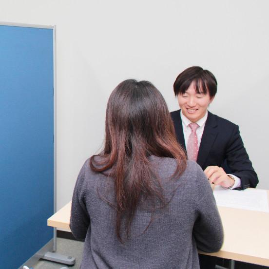 人材紹介・人材派遣に登録の皆様の条件に合わせてご対応